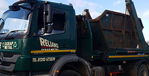 Scrap Metal Collection in Dorchester