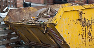Skip hire company in Dorset