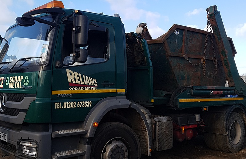 Scrap Metal Collection in Salisbury